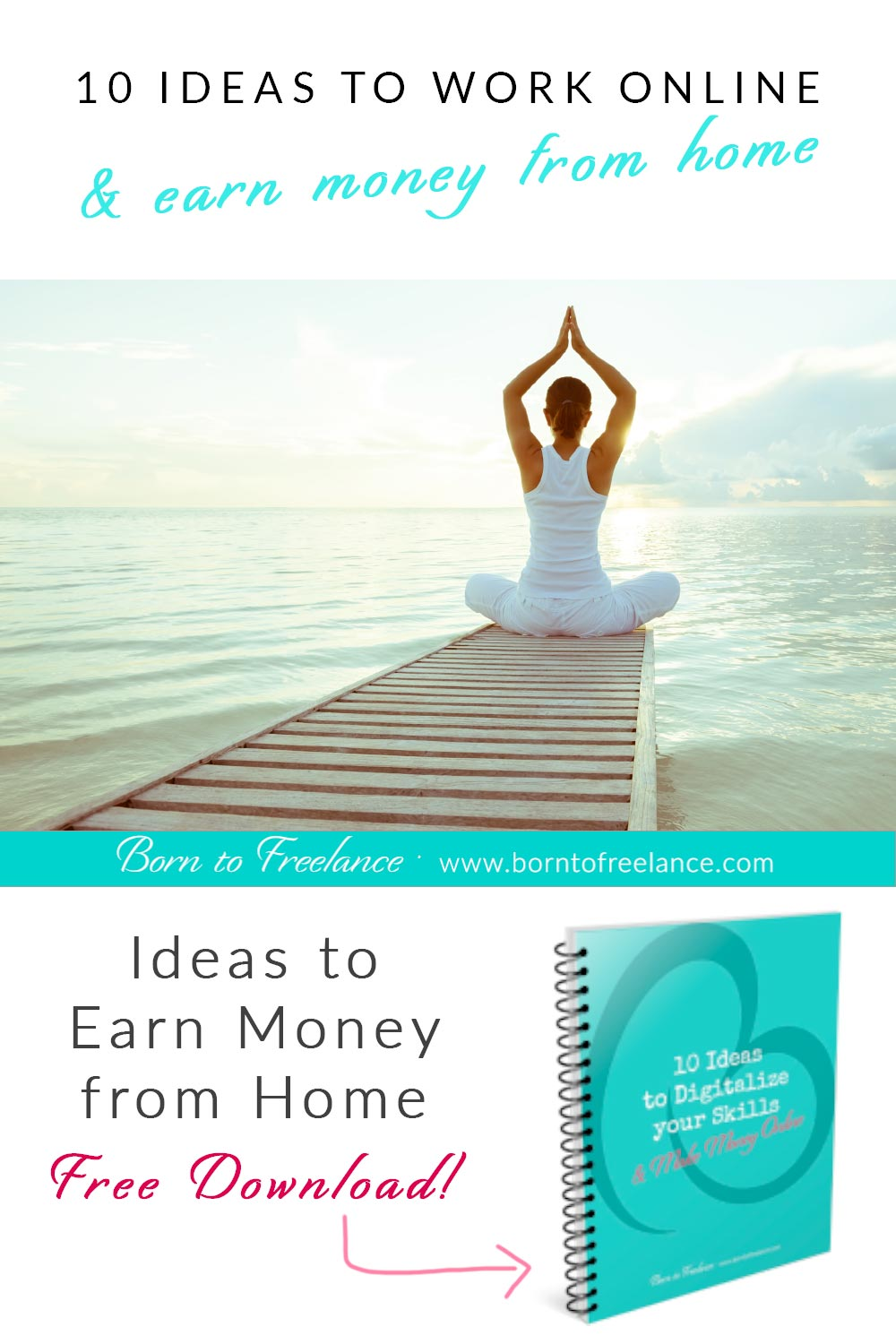 Earn Money from Home - Would you like to work from home? Discover what your online business could look like. #workfromhome #onlinebusiness