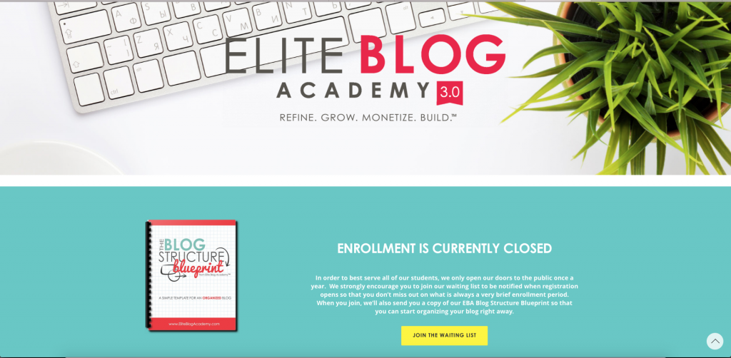 Elite Blog Academy