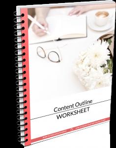 Content Outline Worksheet