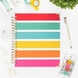 Living Well Planner Stripes