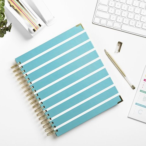 Living Well Planner - Blue Design
