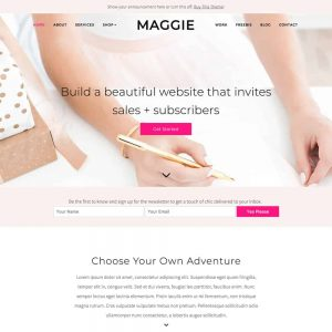 BluChic WordPress Theme Maggie