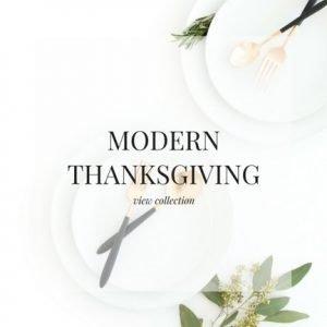 Modern Thanksgiving Stock Images