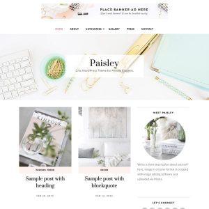 BluChic Wordpress Theme Paisley