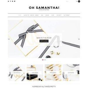 WordPress Theme - Samantha