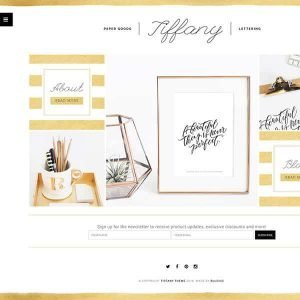 BluChic WordPress Theme - Tifanny