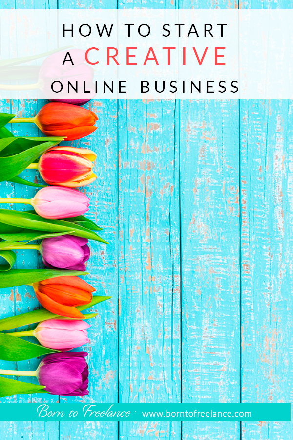 How to start an online business,even if you think your profession is bound to be a brick-and-mortar business. Check these ideas to digitalize your business! #borntofreelance #workonline #workfromhome #creativebusiness