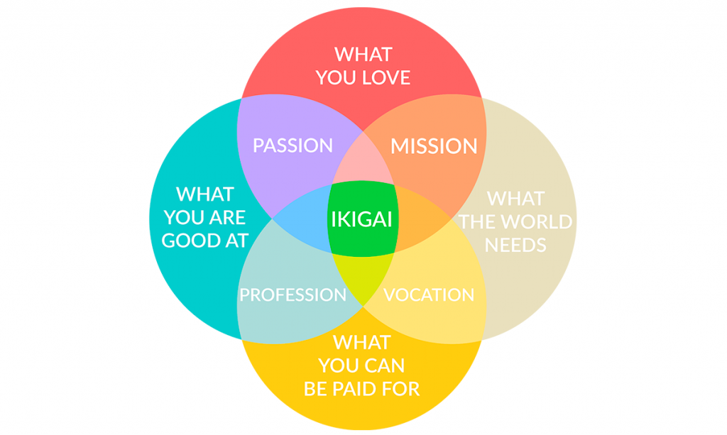 Ikigai - Discover your passions