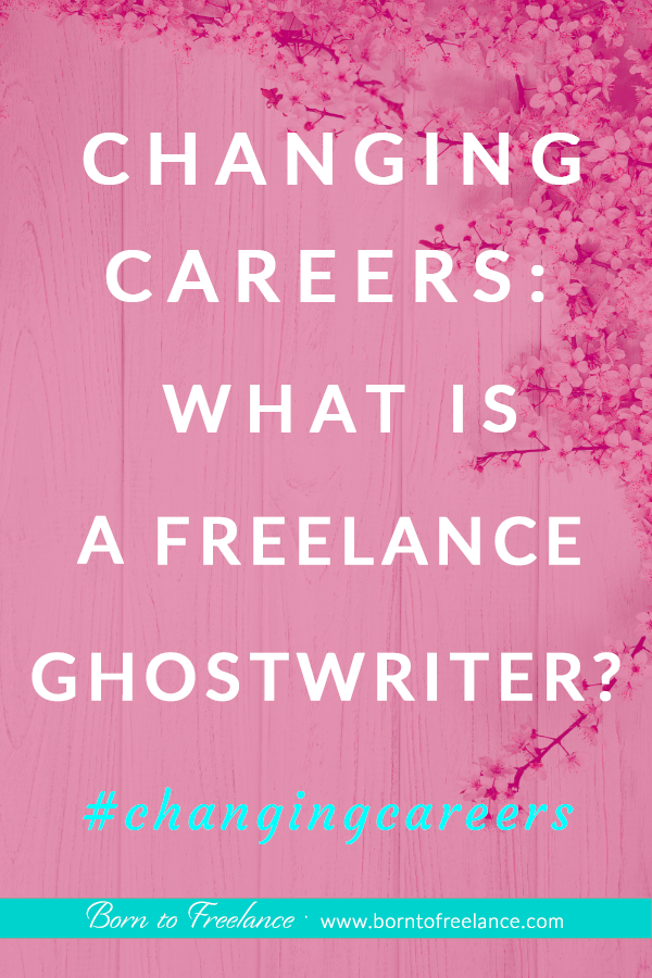 What is a ghostwriter? #ghostwriter-writing #changing-careers #ghostwriter-jobs #whatisaghostwriter