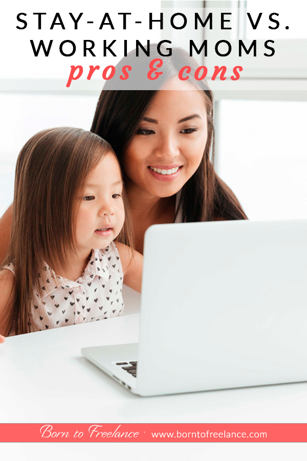 Stay-at-home vs. working moms #sahm-vs-working-mom-tips #work-at-home-or-stay-at-home-mom #stay-at-home-mom-struggles #stay-at-home-mom-income