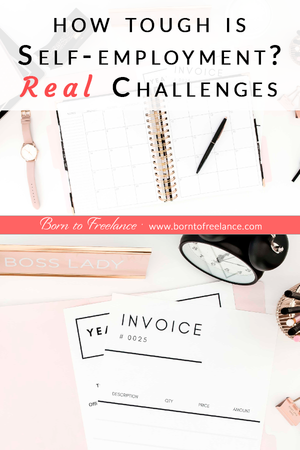 Freelancing challenges #self-employed-organization-at-home #work-from-home #paperwork