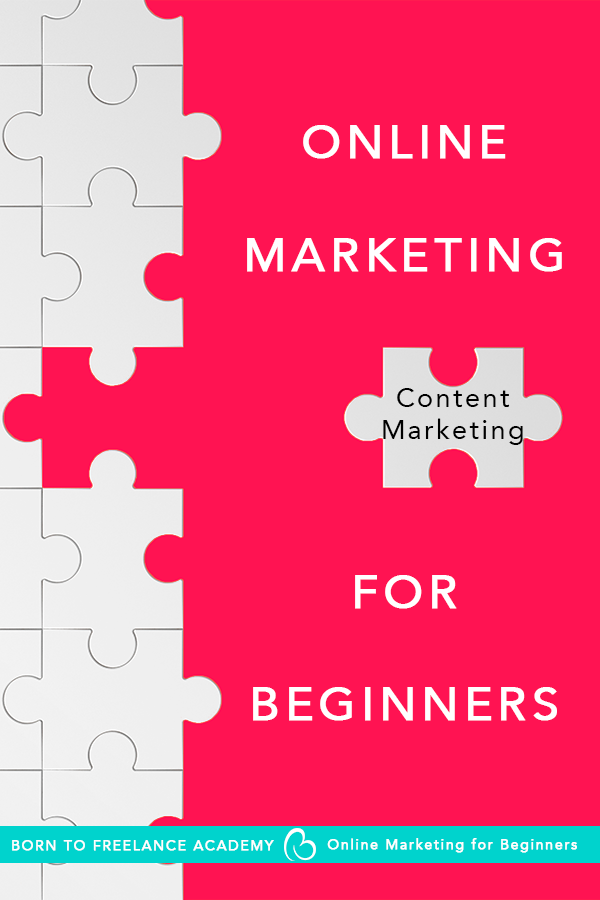 Content Marketing? It may sound complicated, but it's as easy as start writing! Check this episode of the Online Marketing series for beginners, and you'll find out why delivering value matters. #marketingforsolopreneurs #contentmarketing #onlinemarketingforbeginners #borntofreelance