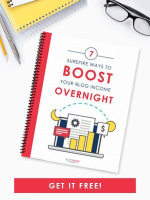 Boost Your Blog Income Overnight