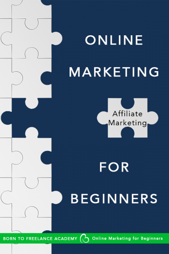 Start making money online with affiliate marketing in this episode of the online marketing series for beginners #digitalmarketing #affiliatemarketing #makemoneyonline #borntofreelance