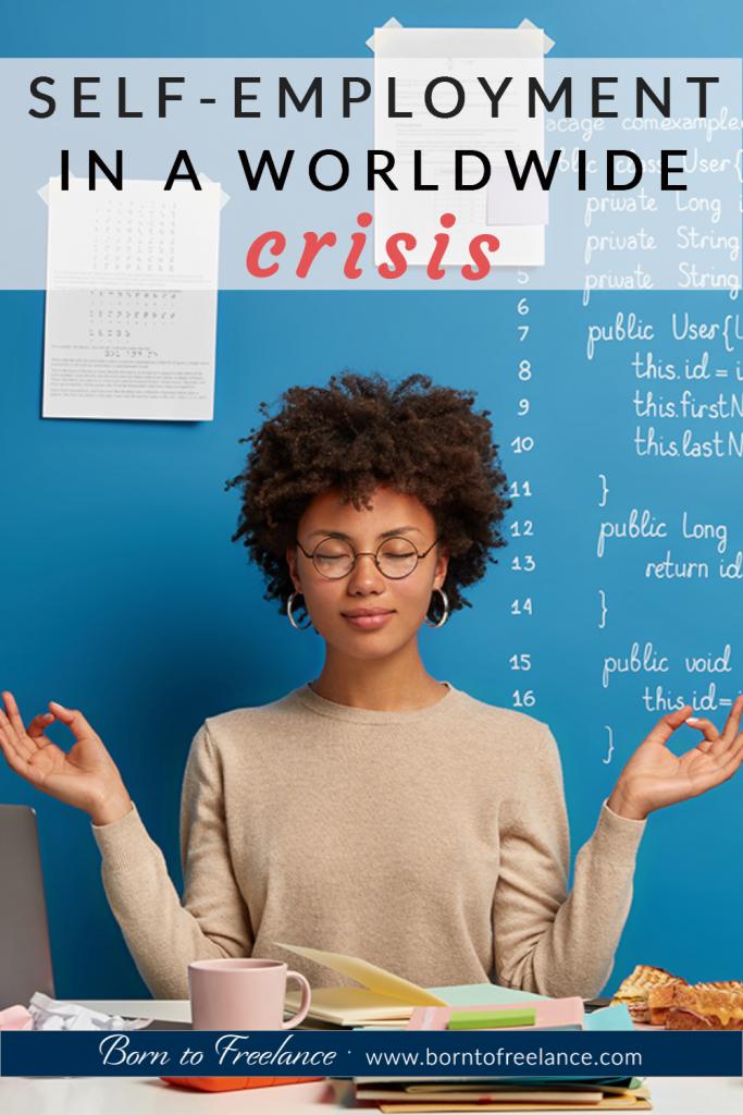 Self-employed during worlwide crisis